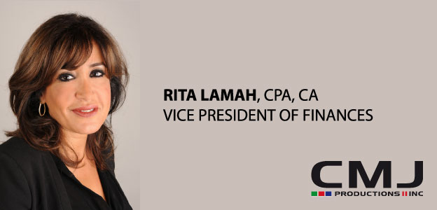 CMJ PRODUCTIONS II INC. APPOINTS RITA LAMAH, CPA, CA TO VICE PRESIDENT OF FINANCES